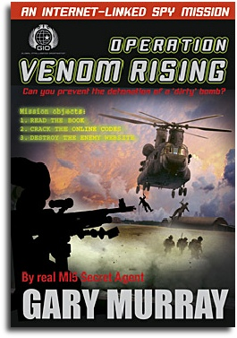 Venom Rising children's fiction by Gary Murray
